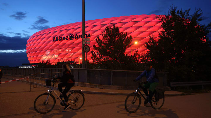 Bayern's Allianz Arena will host the 2023 Champions League final