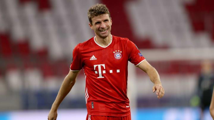 Bestritt in Moskau sein 545. Pflichtspiel für die Bayern: Thomas Müller
