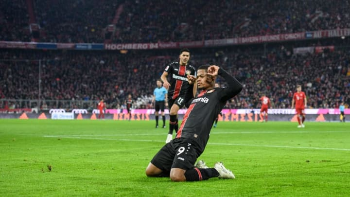 Leon Bailey bagged an emphatic first-half brace in Leverkusen's 2-1 victory at Bayern earlier this season