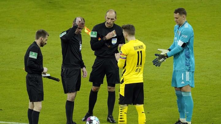 Schiedsrichter Marco Fritz stand nach dem Klassiker im Mittelpunkt