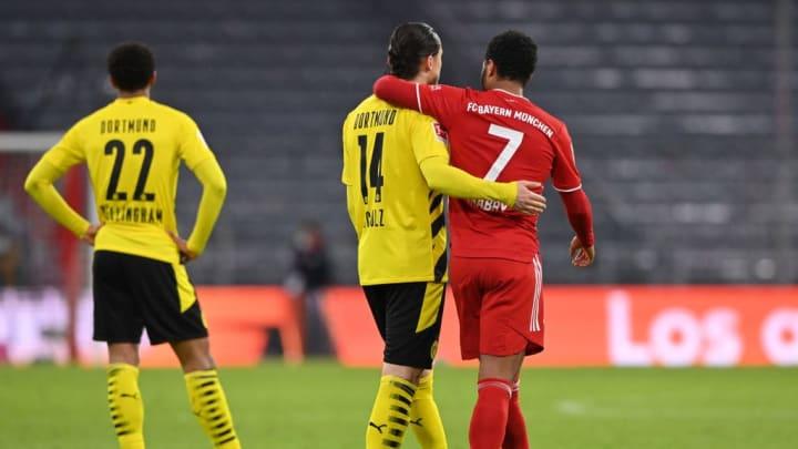 Nico Schulz Serge Gnabry Bundesliga Borussia Dortmund Bayern de Munique
