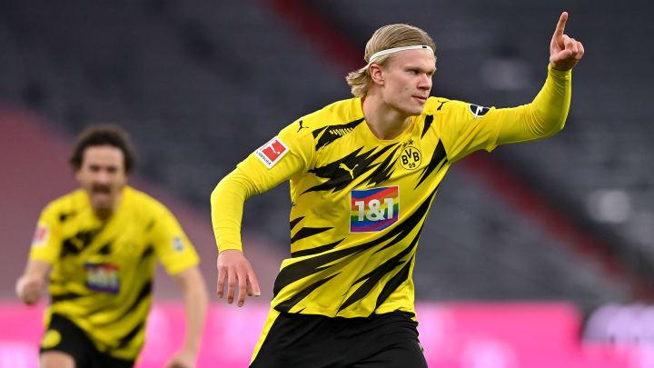 Erling Haaland ist Dortmunds bester Torschütze.