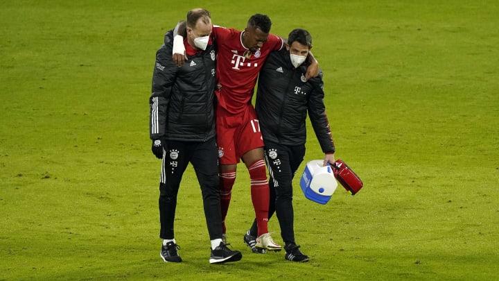 Jerome Boateng wurde verletzt ausgewechselt.