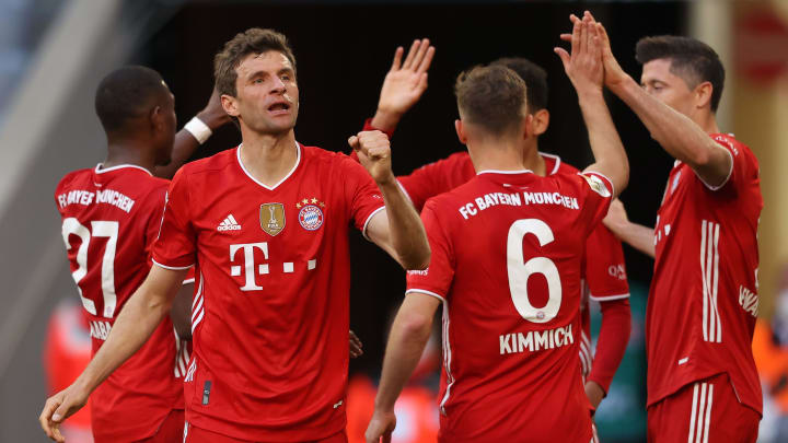 Bayern 6-0 Monchengladbach: Player ratings as Die Roten celebrate title win in style