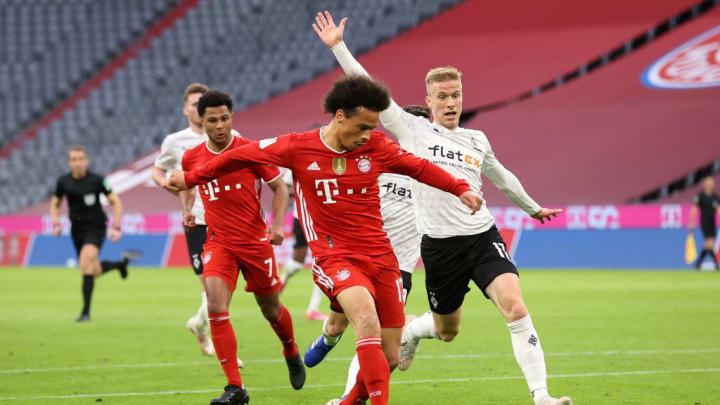 Leroy Sane Bundesliga Bayern de Munique Mönchengladbach
