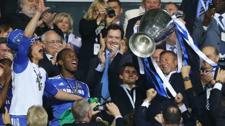 Didier Drogba, George Osborne, Roman Abramovich