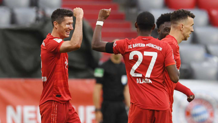 David Alaba, Robert Lewandowski
