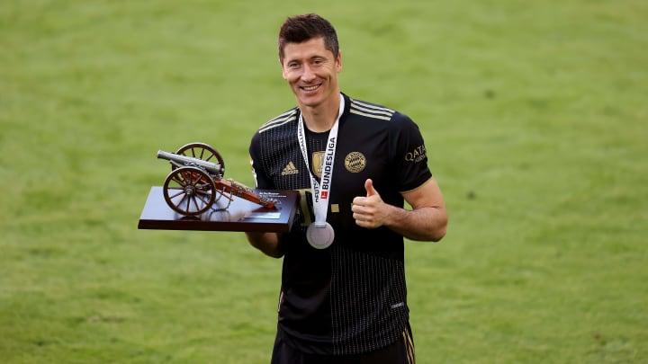 Robert Lewandowski won his maiden European Golden shoe after scoring 41 goals for Bayern Munich in 2020/21 season