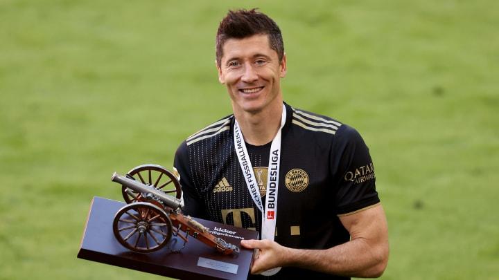 Lewandowski has been honoured for his achievements