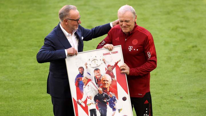 Das Bayern-Urgestein Hermann Gerland wurde feierlich verabschiedet