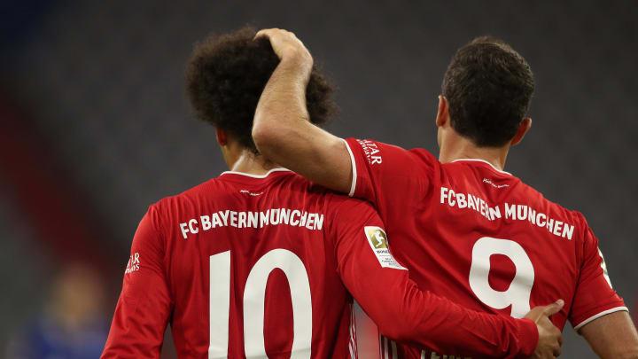 Lewandowski und Sané stehen in der Top-Elf des zweiten Champions-League-Spieltages