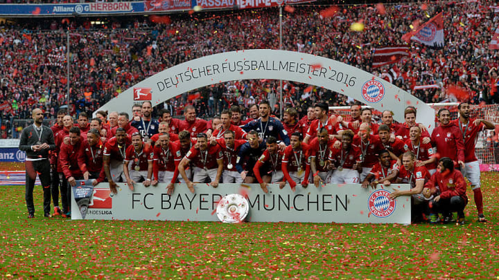 Bayern conceded just 17 goals all season