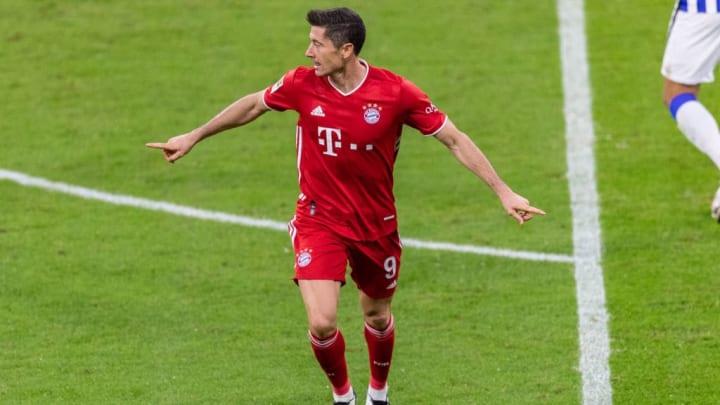 Allein gegen die Hertha traf Lewandowski vier Mal