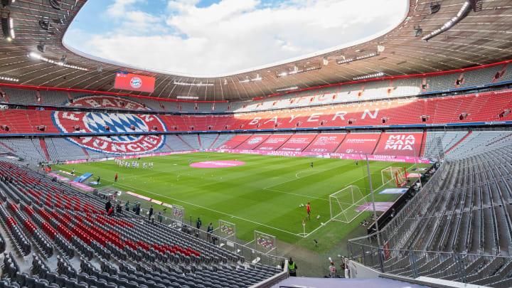 Die Ränge der Allianz Arena bleiben vorerst leer