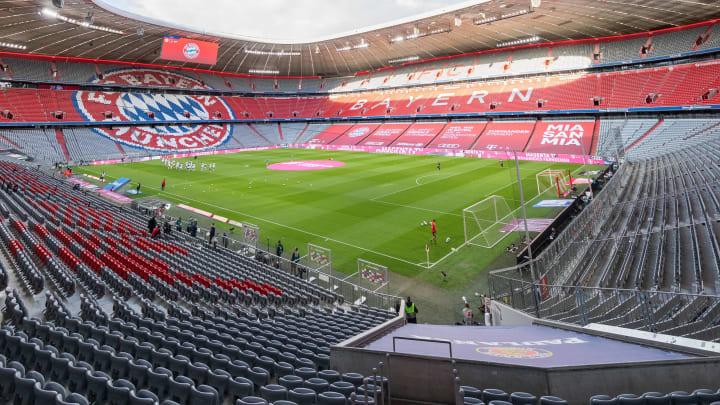 Die Allianz-Arena in München.