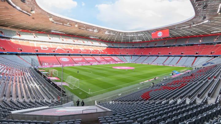 Inzwischen Normalzustand in München: Leeres Stadien beim FC Bayern