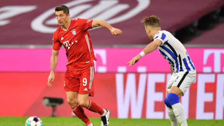 FC Bayern Muenchen v Hertha BSC