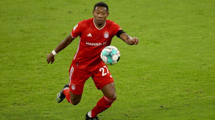 Hansi Flick rechnet damit, dass David Alaba (Foto) den FC Bayern verlassen wird