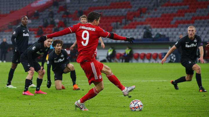 Lewandowski trifft zum 1:0