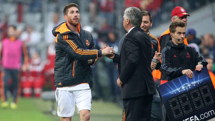 Sergio Ramos, Carlo Ancelotti