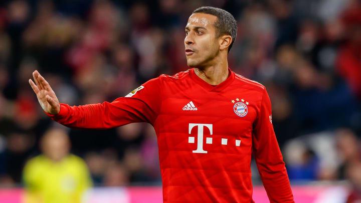 Thiago Alcantara is looking to leave Bayern Munich