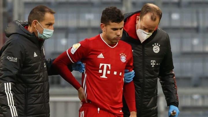 Mit Lucas Hernandez (Mitte) fällt auch der zweite Linksverteidiger des FC Bayern aus