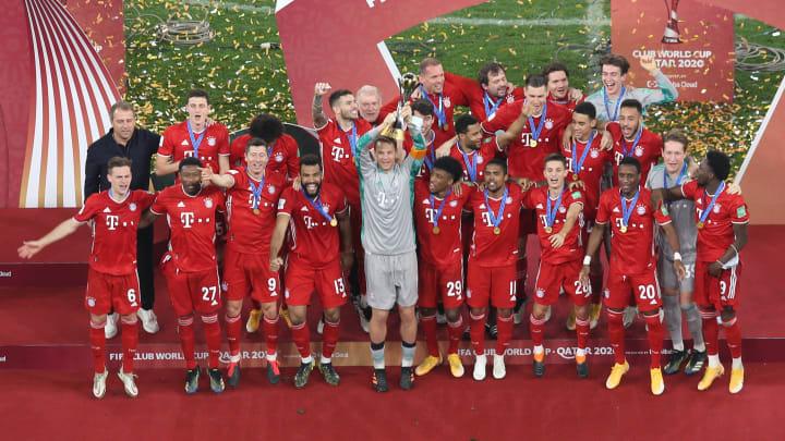 Die Bayern beendeten ein perfektes Jahr