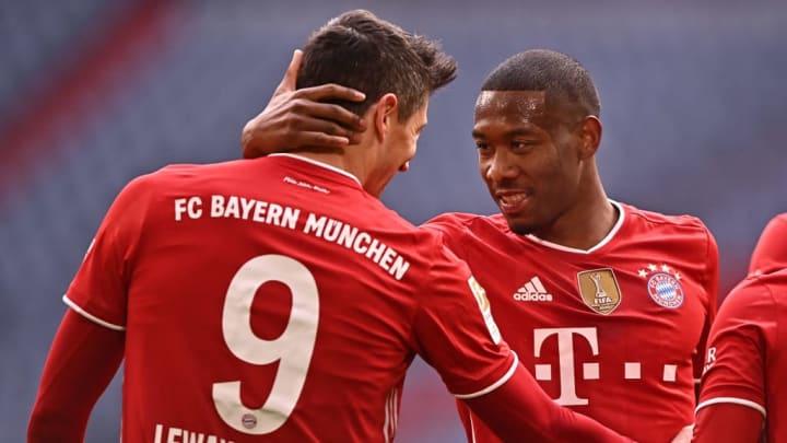 David Alaba Barcelona Bayern Munique