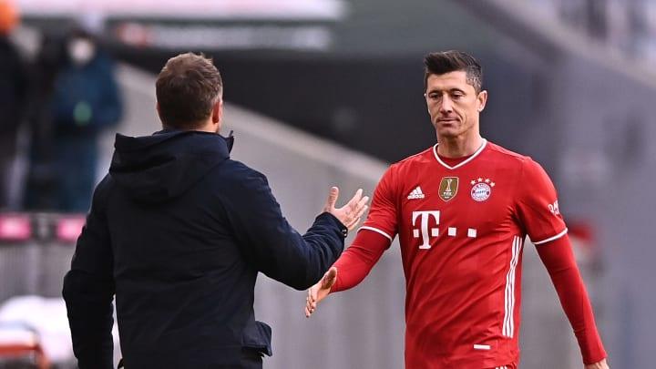 Hansi Flick muss gegen Leipzig auf Weltfußballer Robert Lewandowski verzichten. Für den Bayern-Coach gibt es mehrere Alternativen.