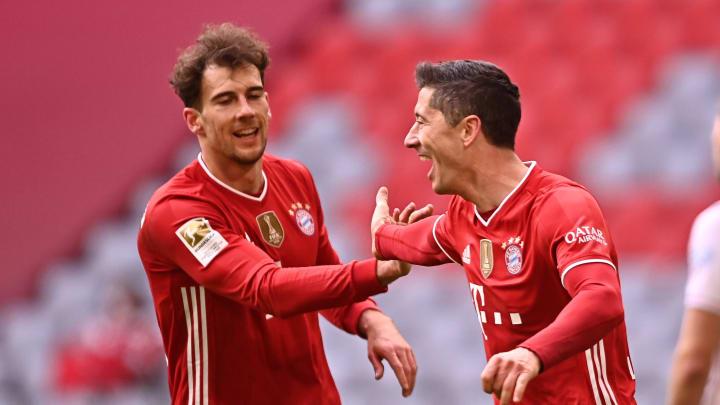 Leon Goretzka and Robert Lewandowski will be central to Bayern's plans