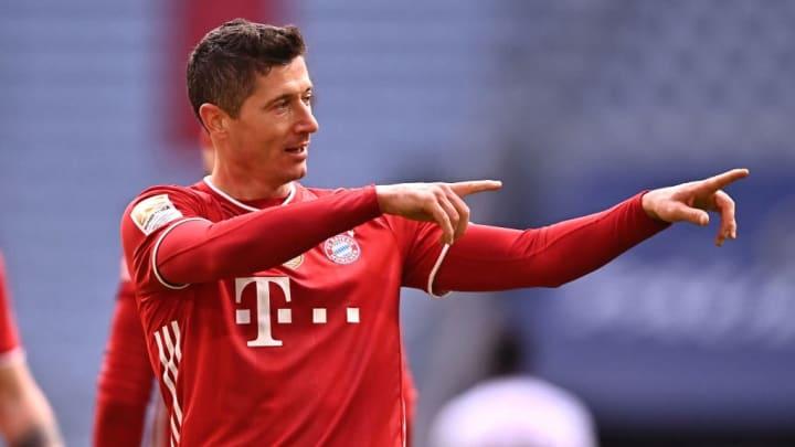 Robert Lewandowski Chuteira de Ouro Bayern Munique