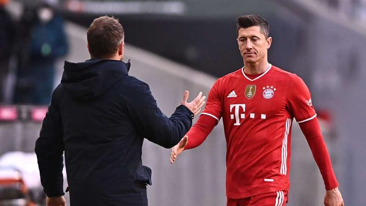Lewandowski hofft auf einen Einsatz im CL-Viertelfinal-Rückspiel gegen PSG