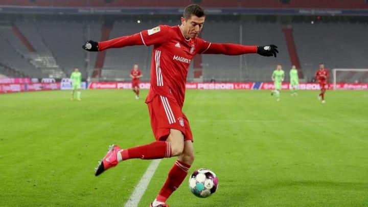 Lewandowski traf gleich doppelt gegen seinen Lieblingsgegner