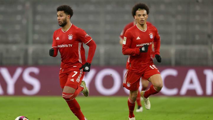 Das Formtief ist überwunden: Leroy Sané und Serge Gnabry sind zurück bei alter Stärke.