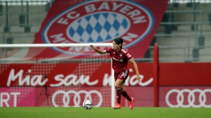 Saki Kumagai Champions League Bayern de Munique