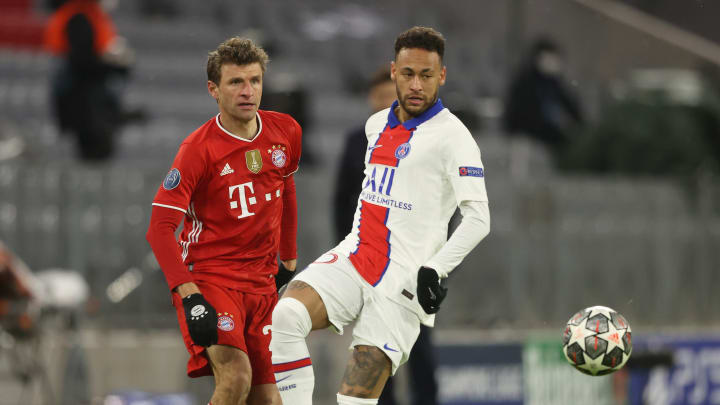 Neymar deu duas assistências na vitória do PSG
