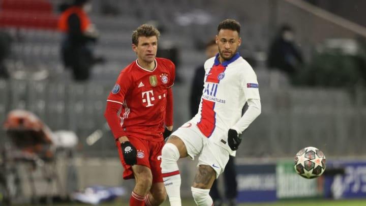Thomas Muller, Neymar