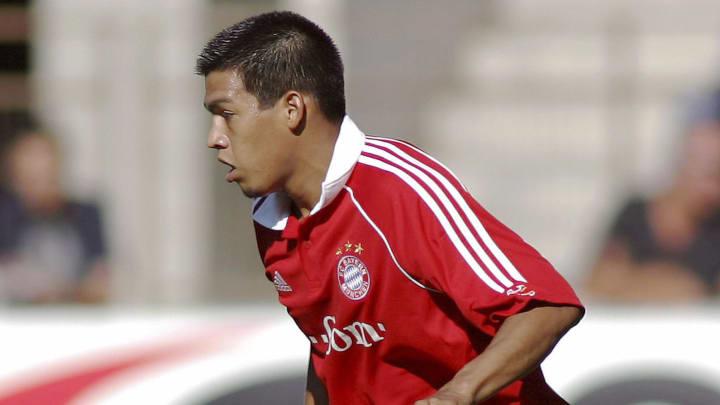 FC Bayern Munich's Paraguayan midfielder