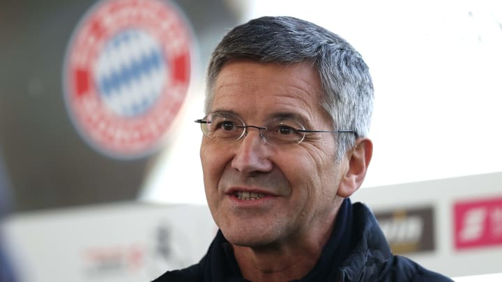 Bayern-Präsident Herbert Hainer sieht wohl von weiteren großen Transfers ab.