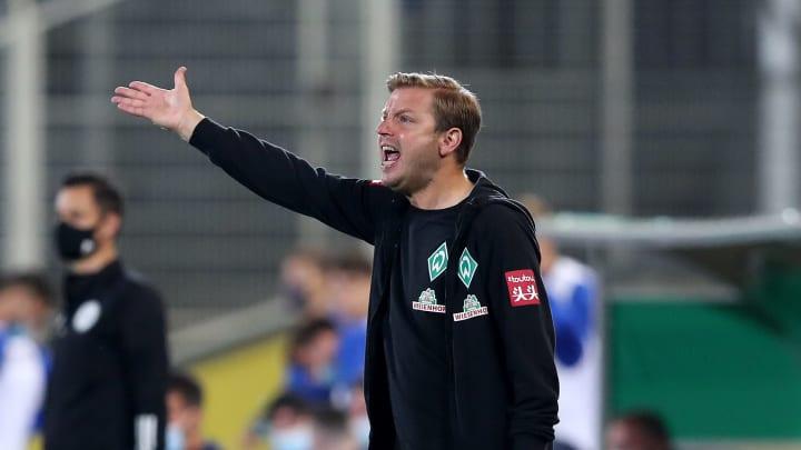 Mit seiner Mannschaft seit vier Pflichtspielen ungeschlagen: Florian Kohfeldt
