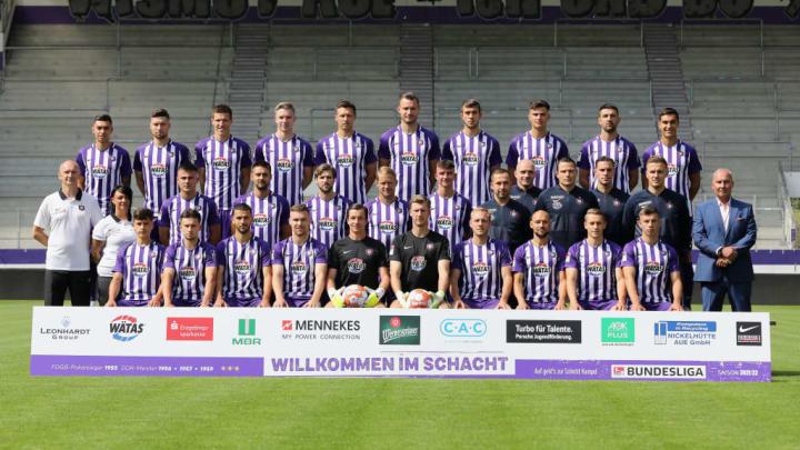 FC Erzgebirge Aue - Team Presentation