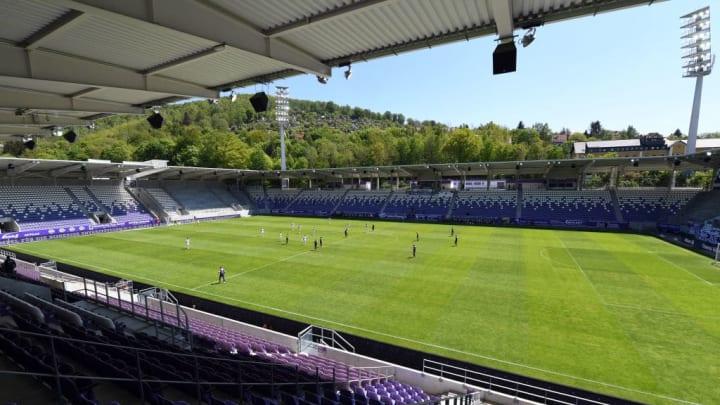 FC Erzgebirge Aue v SV Sandhausen - Second Bundesliga