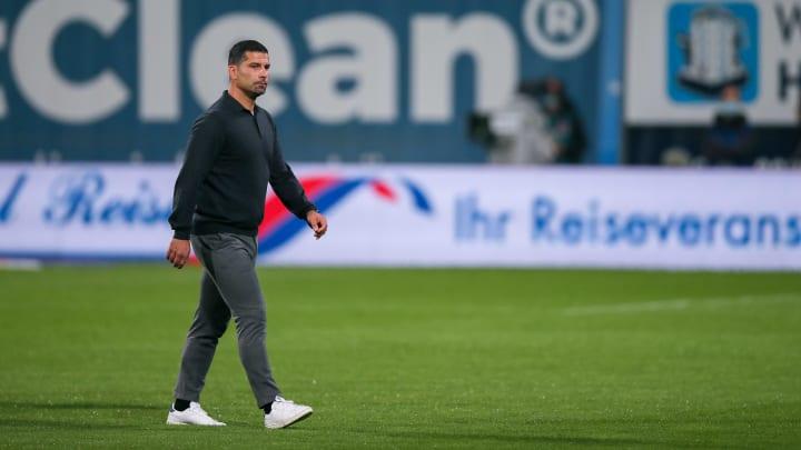 Dimitrios Grammozis schlendert durch das Ostseestadion