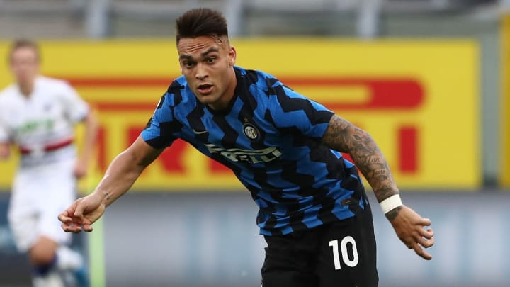 Inter forward Lautaro Martinez has attracted interest from Man City, Chelsea & Liverpool
