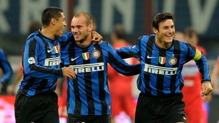 Ivan Ramiro Cordoba, Wesley Sneijder, Javier Zanetti