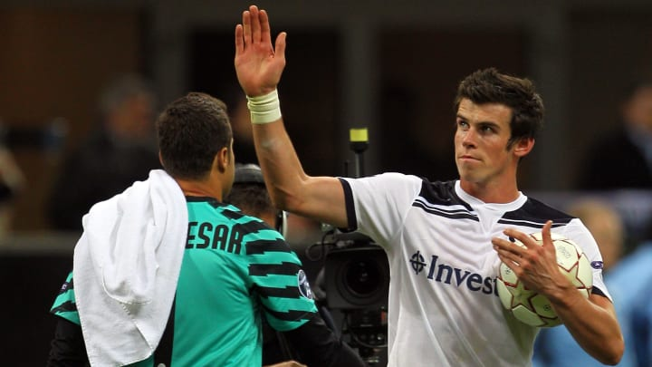 Gareth Bale's breakout performance came in October 2010