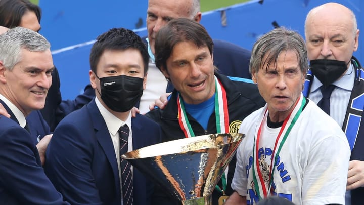 Zhang and Conte have been forced to go their separate ways