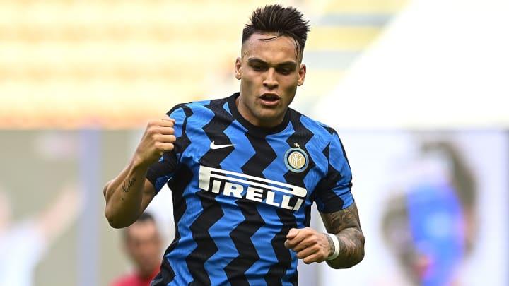 O atacante Lautaro Martínez foi um dos destaques da Inter campeã italiana.