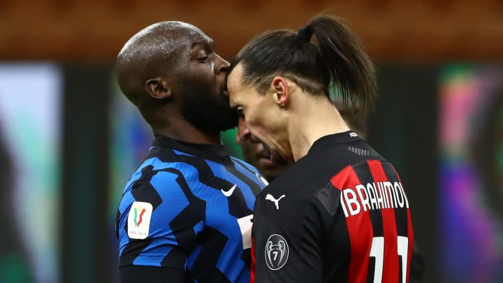 Romelu Lukaku aimed a dig at Zlatan Ibrahimovic after Inter secured the Serie A title