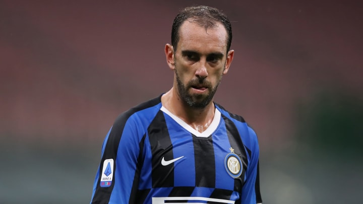 Diego Godin will terminate his Inter contract and leave on a free transfer